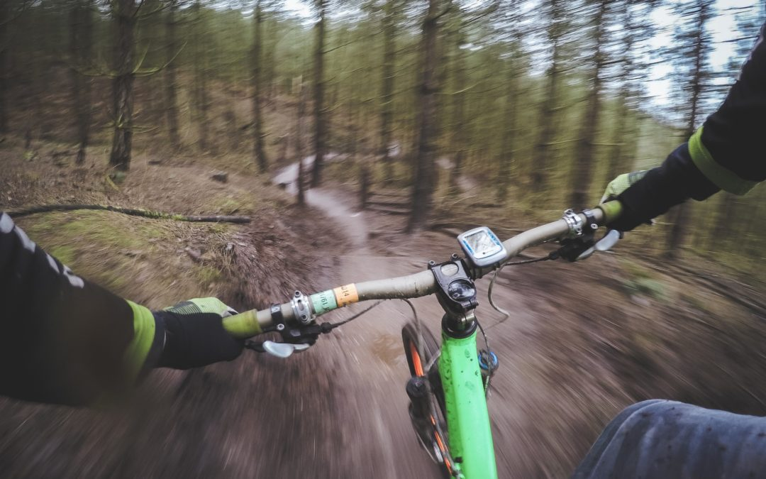 Få minnesvärda upplevelser med en mountainbike